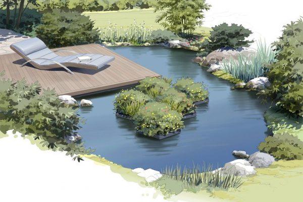 Teich selber bauen - natürlich und ohne Chemie