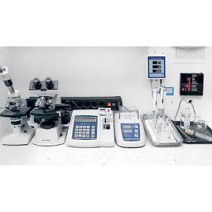 Füllwasser-Wasseranalyse, Laborleistung