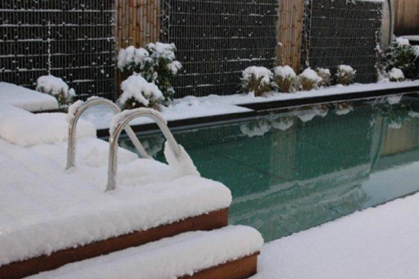 Wie mache ich meinen Teich winterfest?