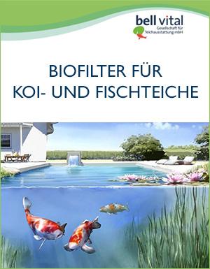 Biofilter für Koi- und Fischteiche
